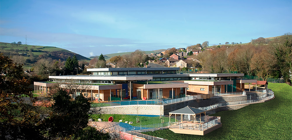 Architype Cwm Ifor Primary School The Uk S Leading
