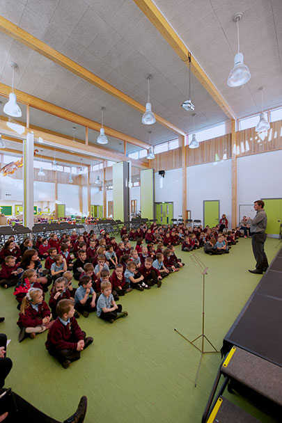 Architype Cwm Ifor Primary School The Uk S Leading